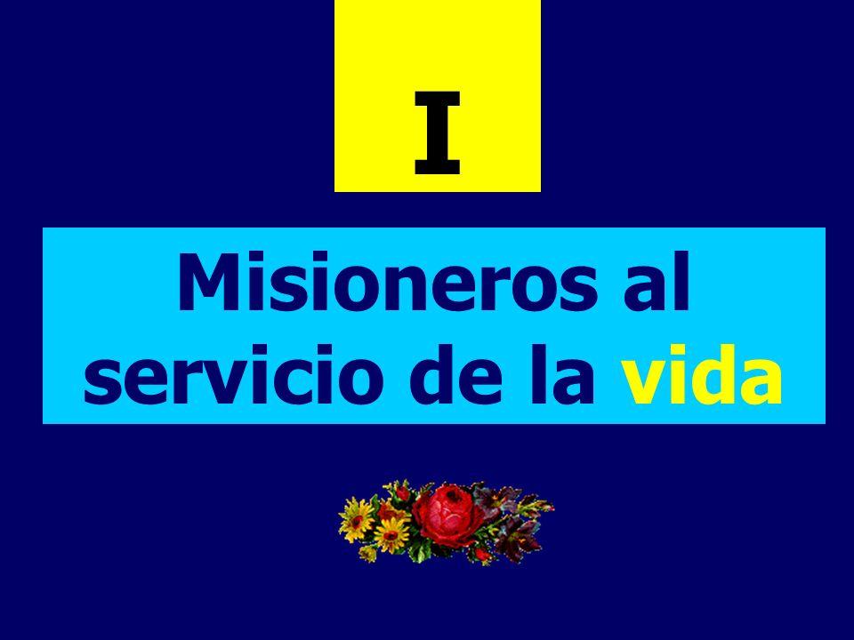 Misioneros al servicio de la vida