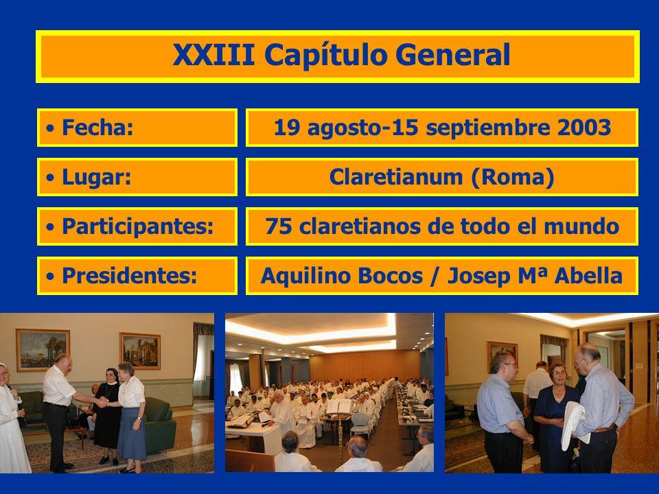 XXIII Capítulo General