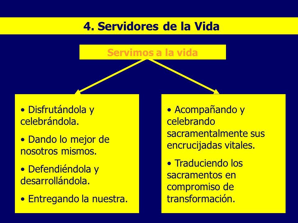 4. Servidores de la Vida Servimos a la vida