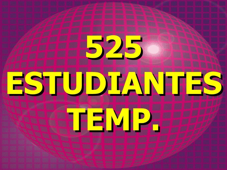 525 ESTUDIANTES TEMP.