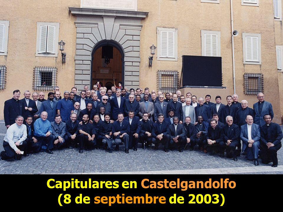 Capitulares en Castelgandolfo