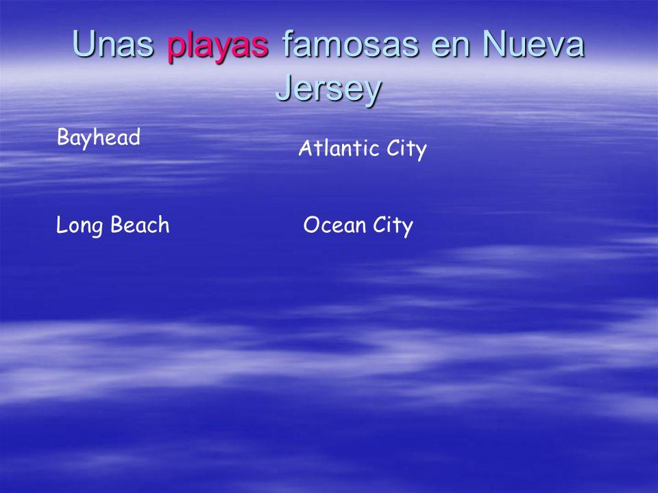 Unas playas famosas en Nueva Jersey