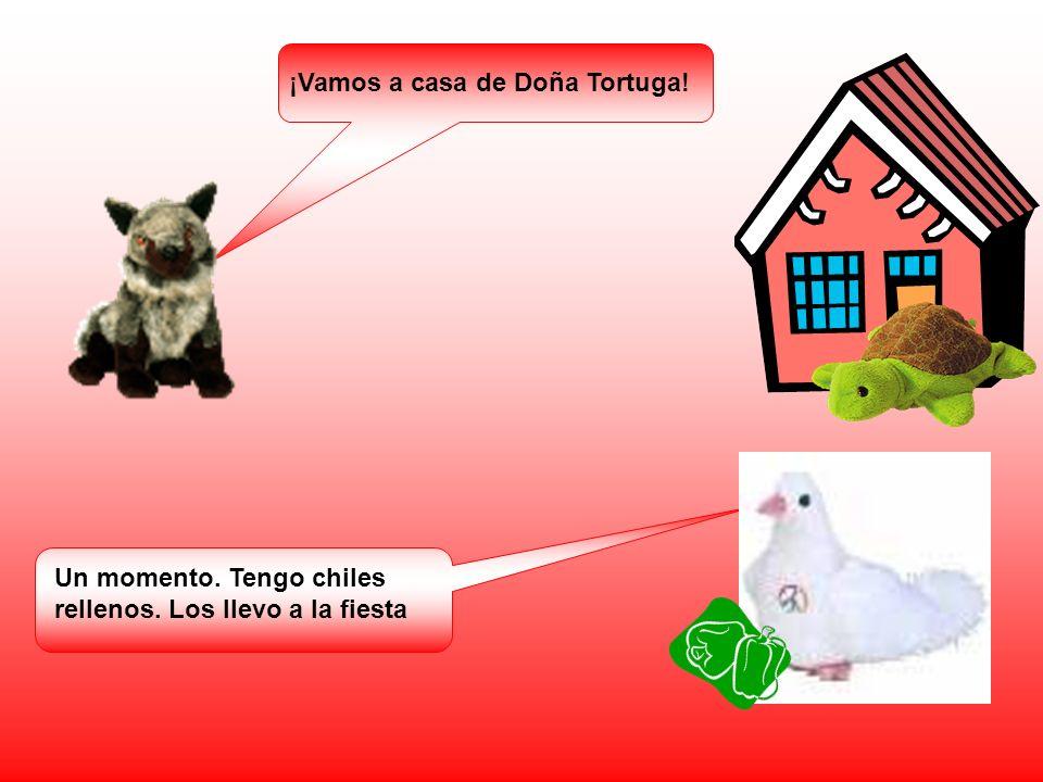 ¡Vamos a casa de Doña Tortuga!