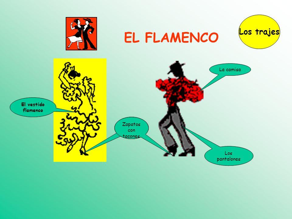 EL FLAMENCO Los trajes La camisa El vestido flamenco