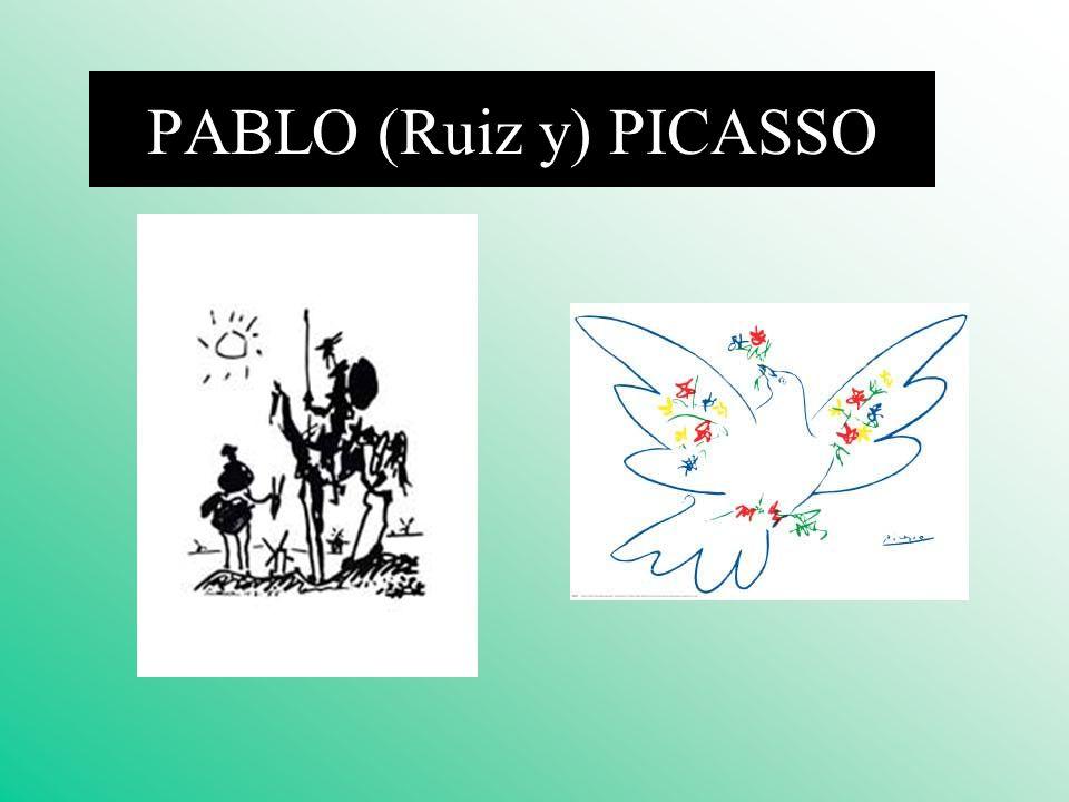 PABLO (Ruiz y) PICASSO