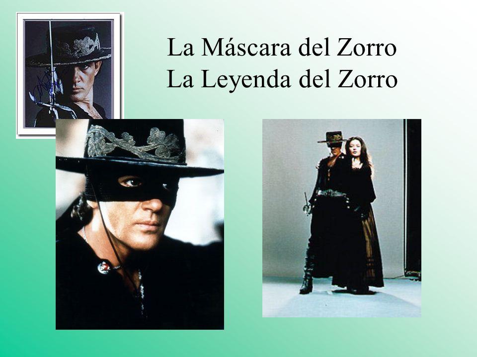 La Máscara del Zorro La Leyenda del Zorro