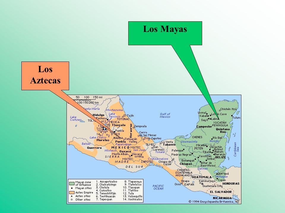 Los Mayas Los Aztecas