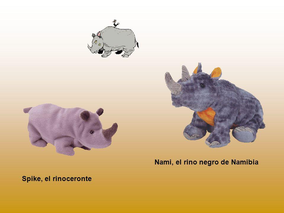 Nami, el rino negro de Namibia
