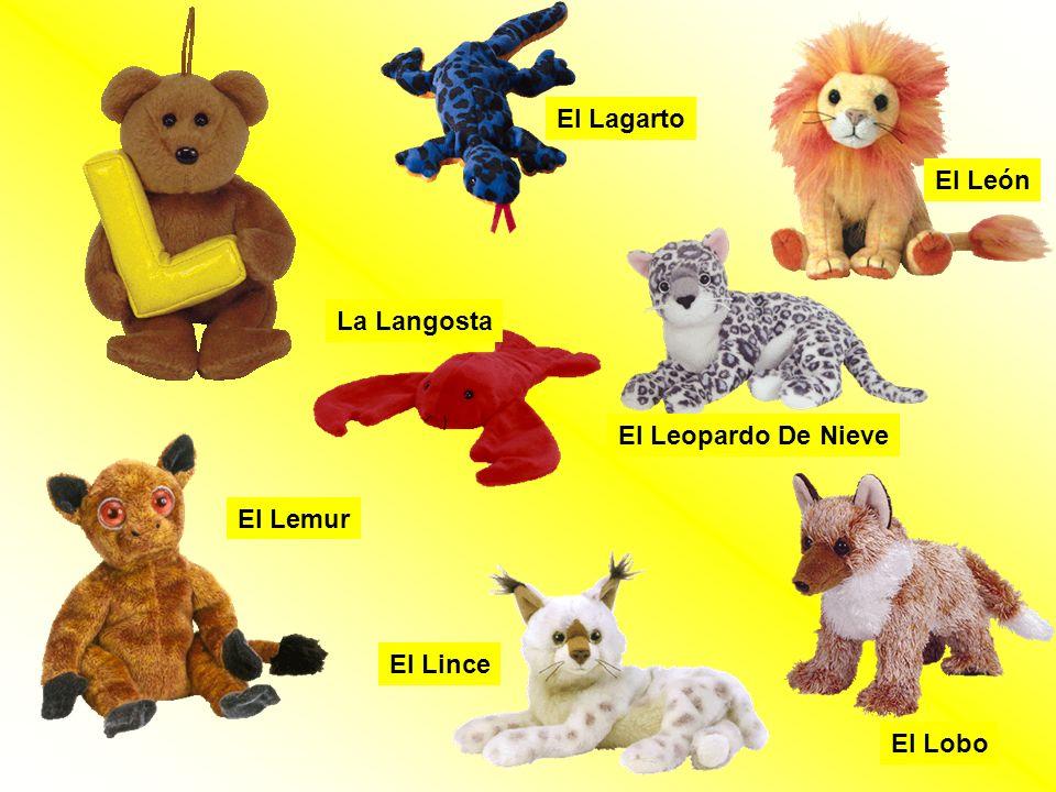 El Lagarto El León La Langosta El Leopardo De Nieve El Lemur El Lince El Lobo