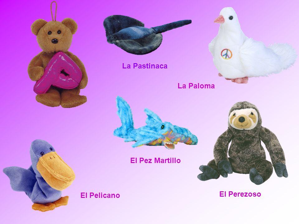 La Pastinaca La Paloma El Pez Martillo El Pelicano El Perezoso