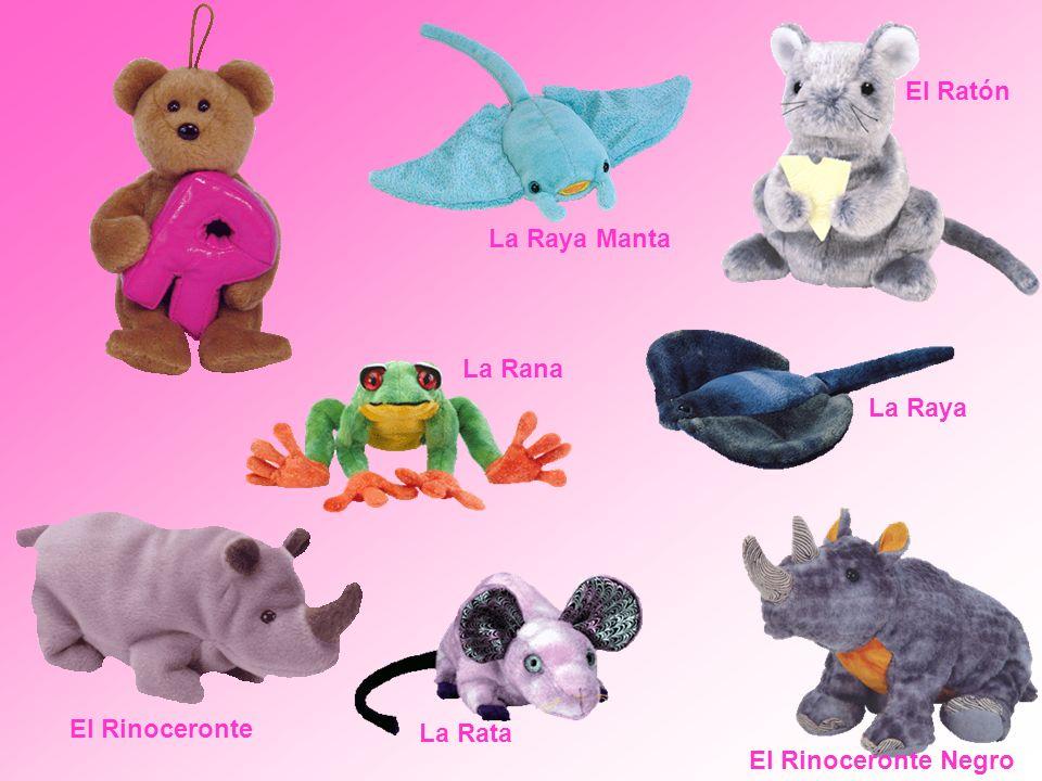 El Ratón La Raya Manta La Rana La Raya El Rinoceronte La Rata El Rinoceronte Negro