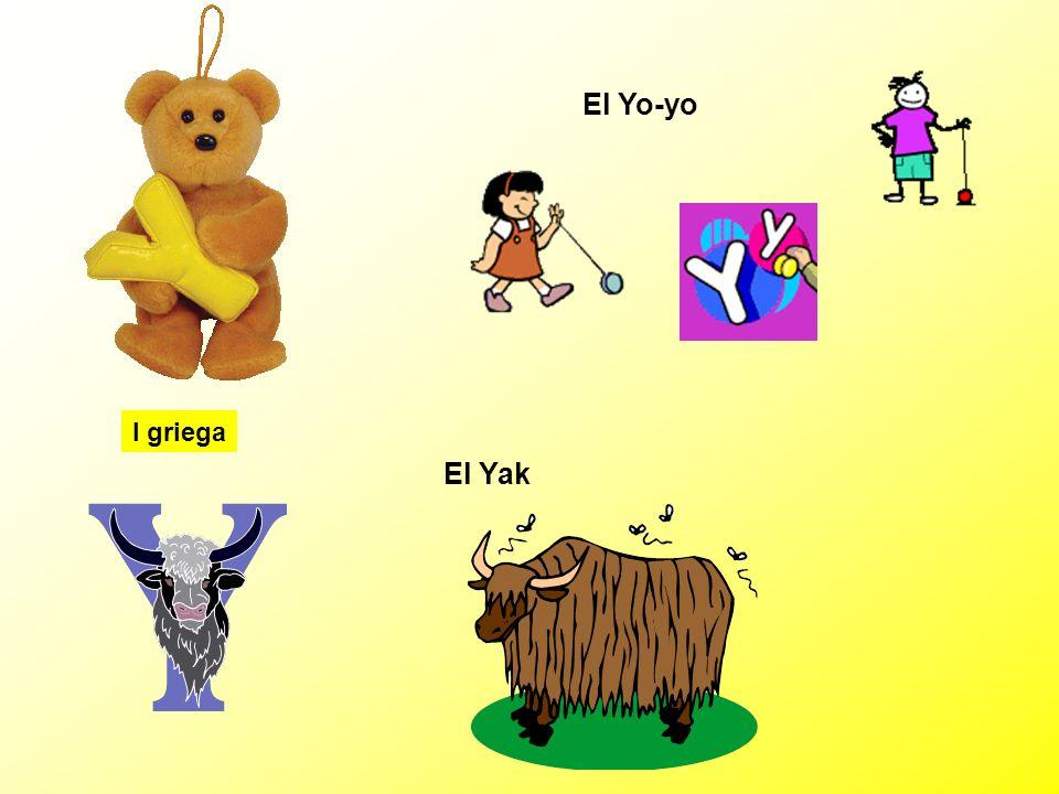 El Yo-yo I griega El Yak