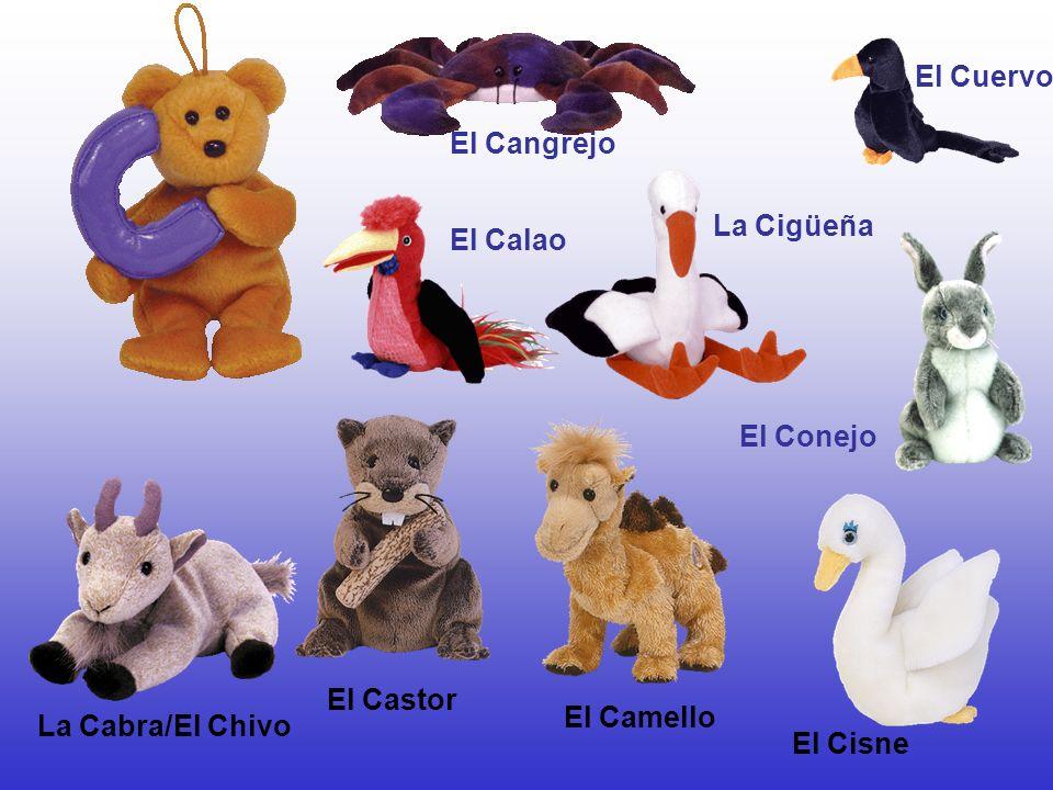 El Cuervo El Cangrejo La Cigüeña El Calao El Conejo El Castor El Camello La Cabra/El Chivo El Cisne