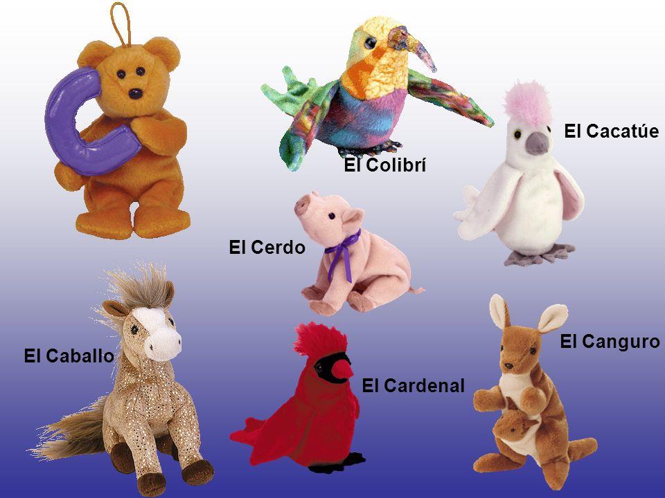 El Cacatúe El Colibrí El Cerdo El Canguro El Caballo El Cardenal