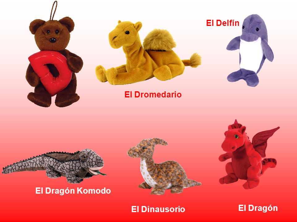 El Delfín El Dromedario El Dragón Komodo El Dinausorio El Dragón