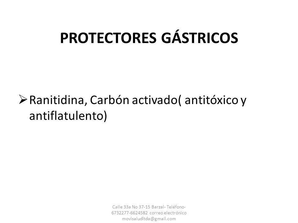 PROTECTORES GÁSTRICOS