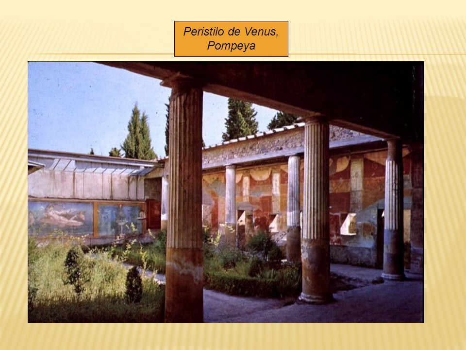 Peristilo de Venus, Pompeya