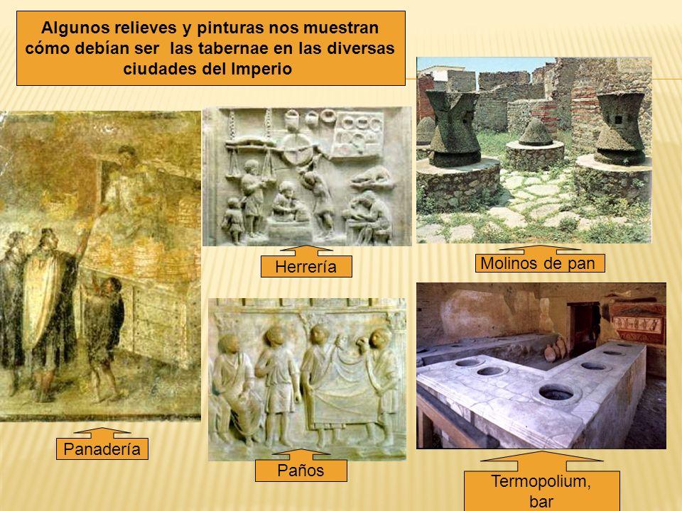 Algunos relieves y pinturas nos muestran