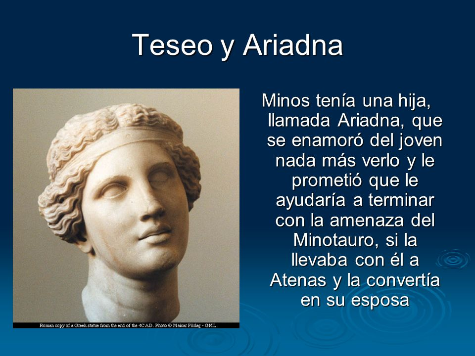 Teseo y Ariadna