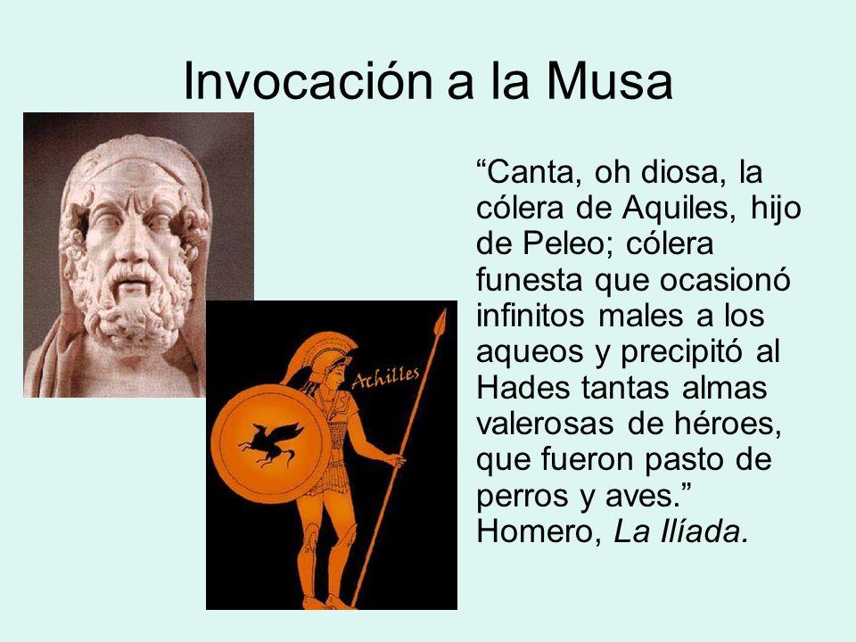 Invocación a la Musa