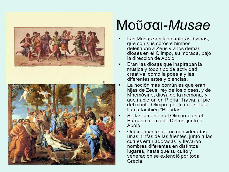 Μοῦσαι-Musae