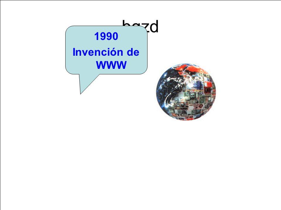 bgzd 1990 Invención de WWW