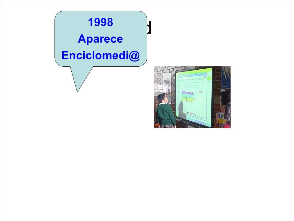 d 1998 Aparece Enciclomedi@