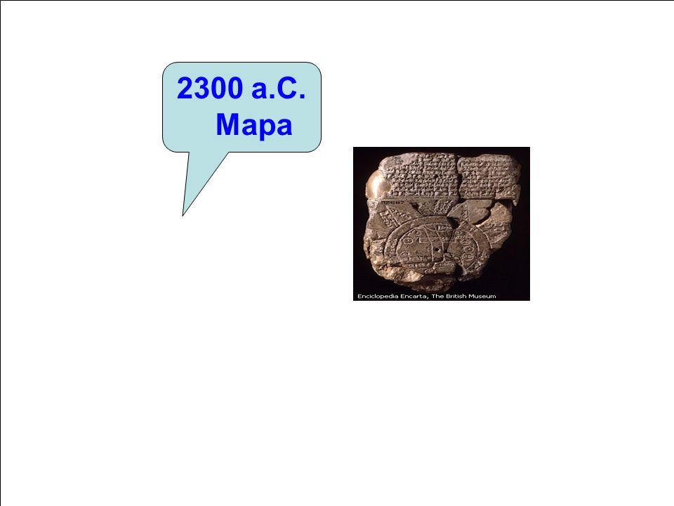2300 a.C. Mapa