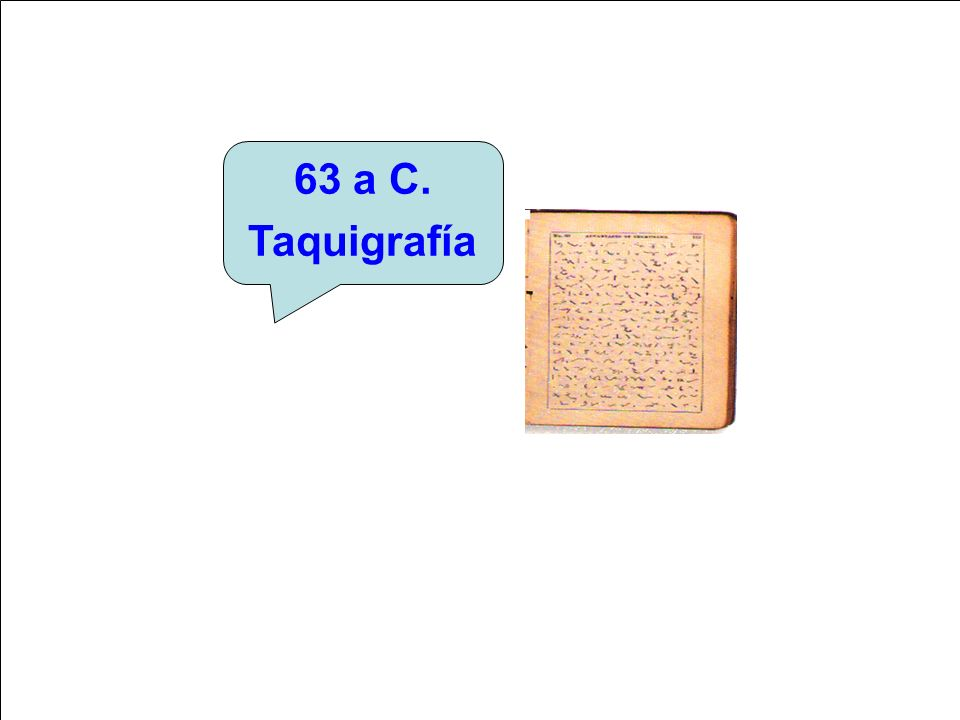 63 a C. Taquigrafía