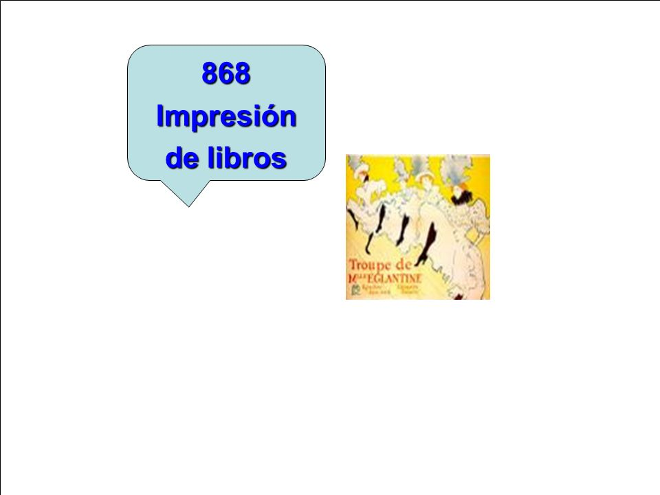 868 Impresión de libros