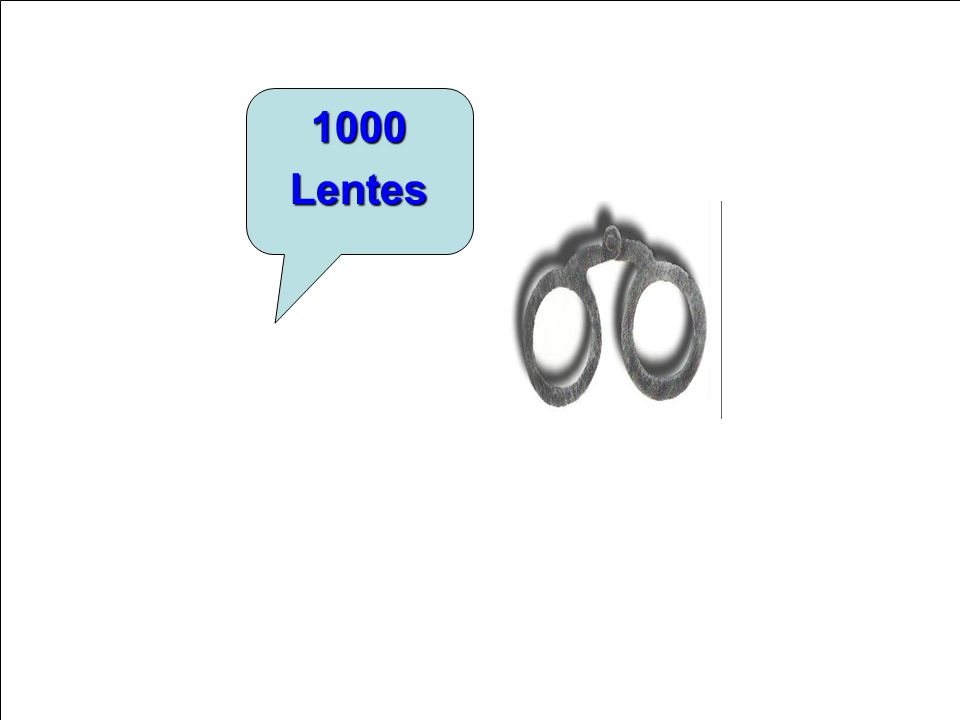 1000 Lentes