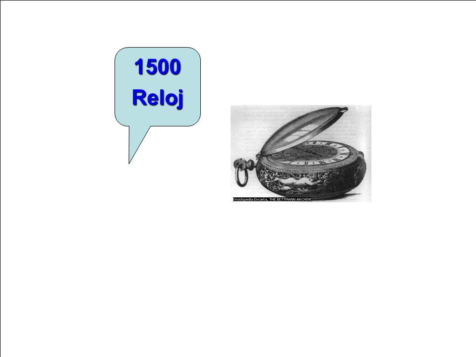 1500 Reloj