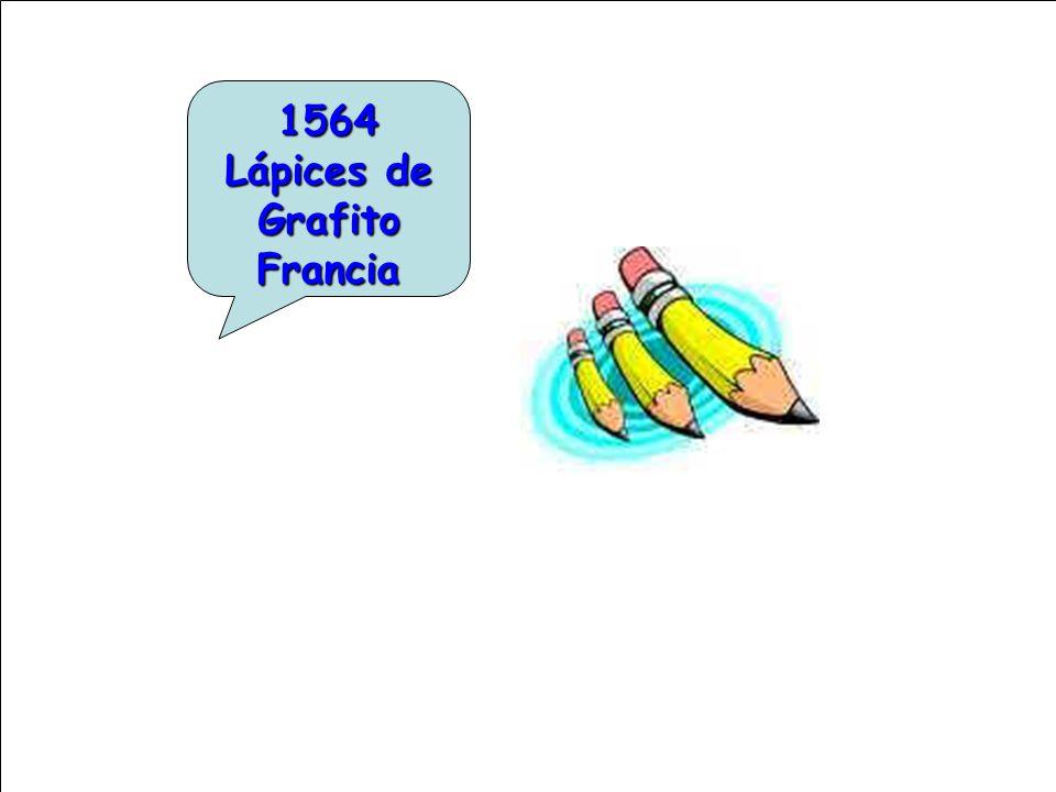 1564 Lápices de Grafito Francia