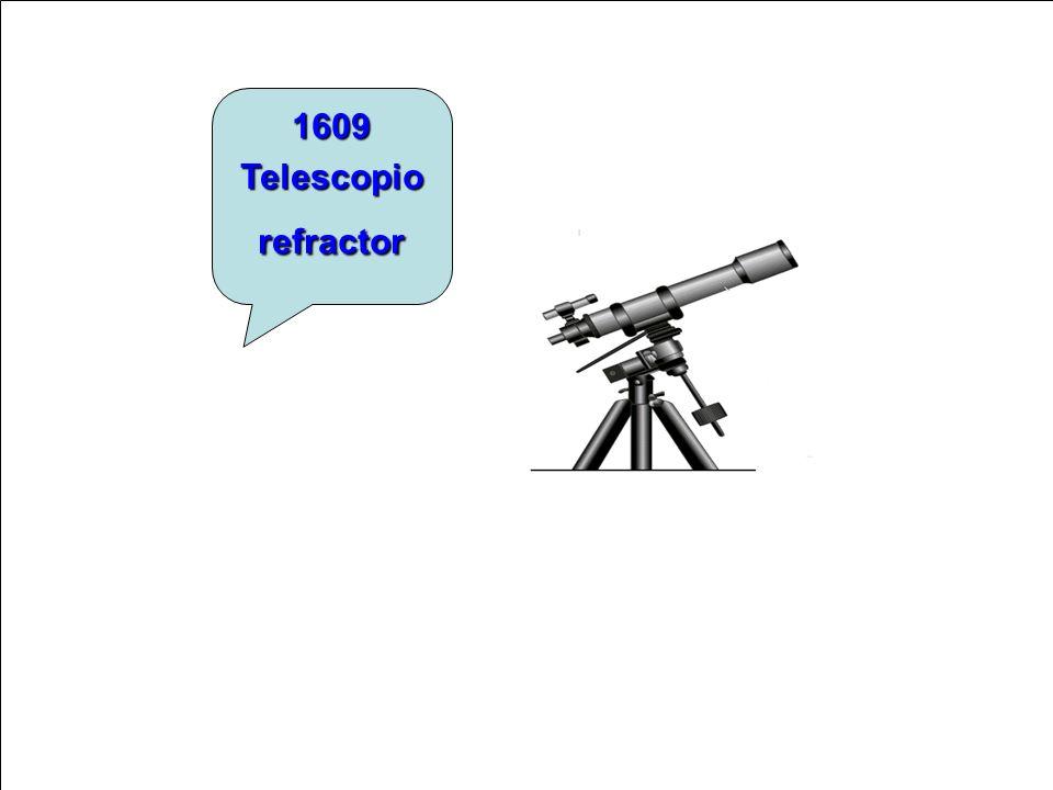 1609 Telescopio refractor