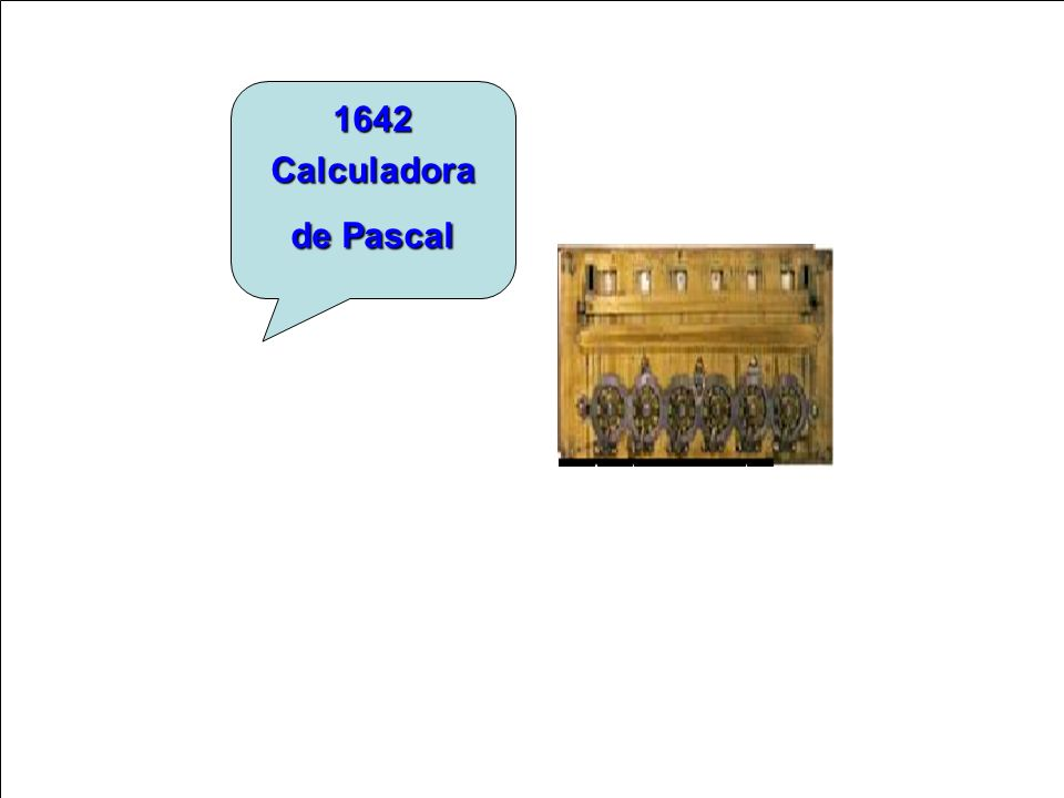 1642 Calculadora de Pascal