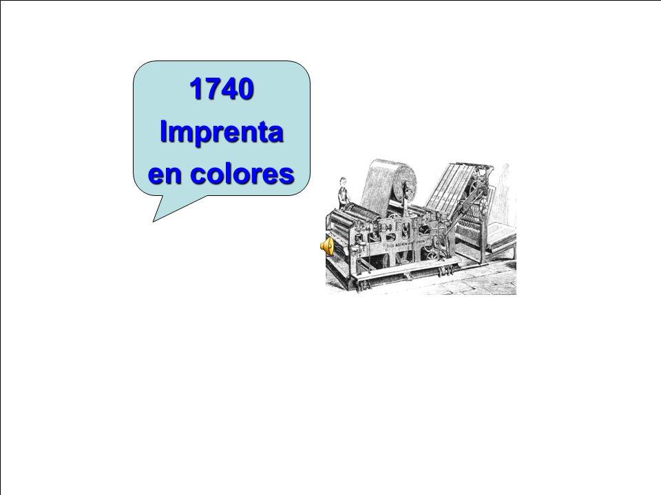 1740 Imprenta en colores