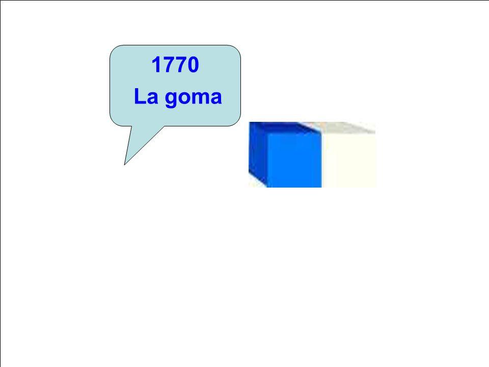 1770 La goma