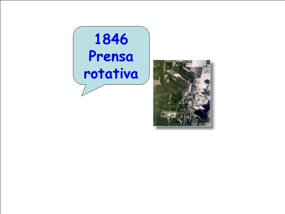 1846 Prensa rotativa