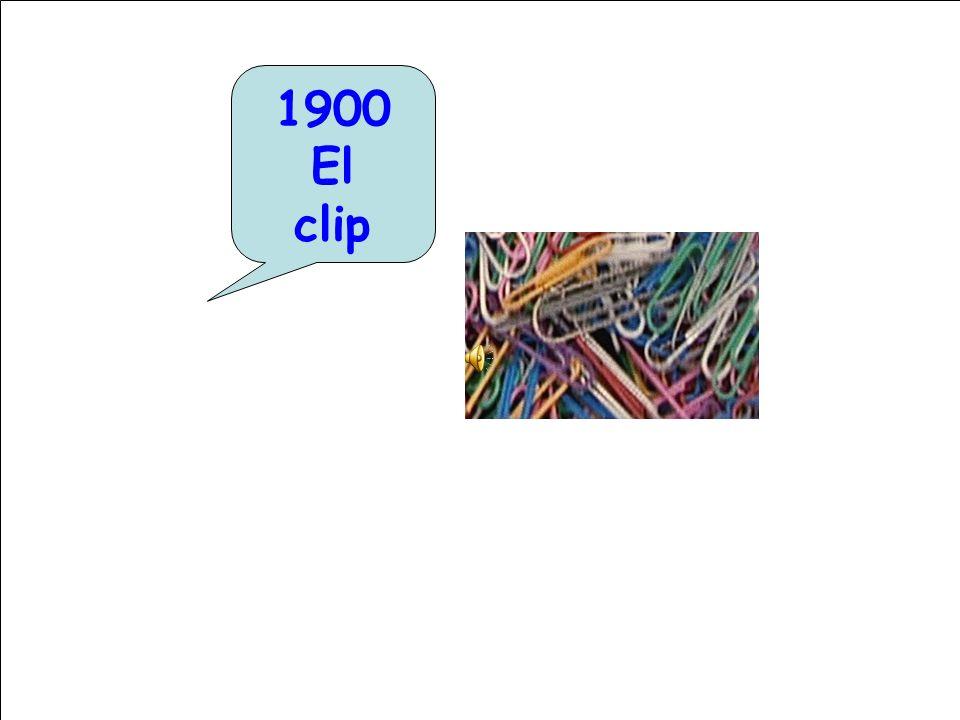 1900 El clip