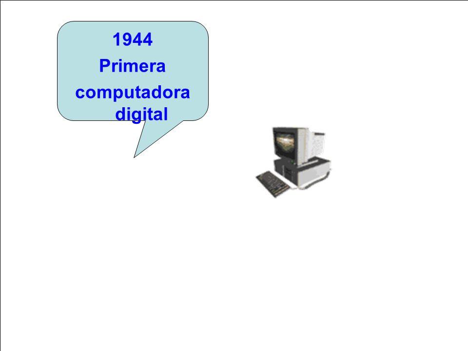 1944 Primera computadora digital