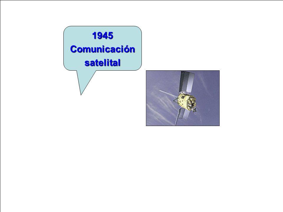 1945 Comunicación satelital
