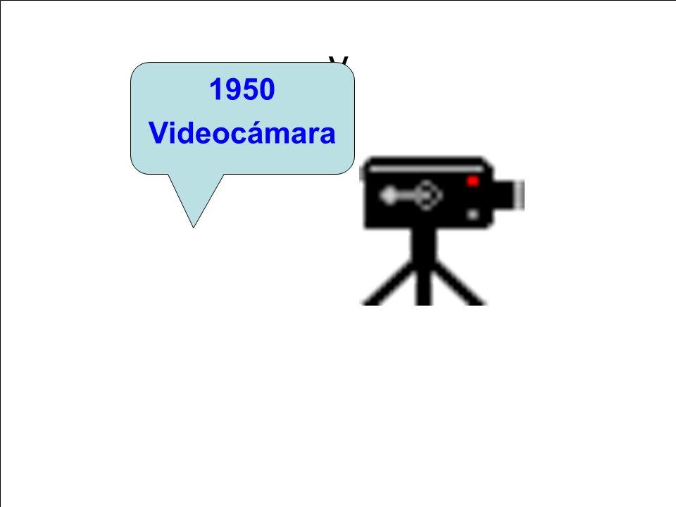 y 1950 Videocámara