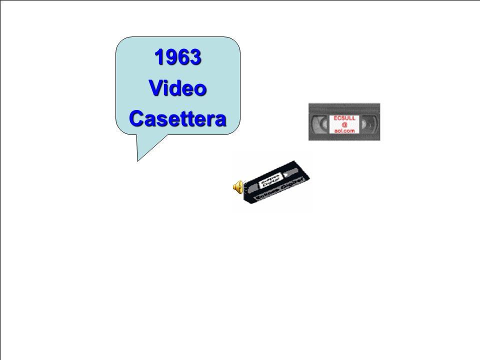 1963 Video Casettera