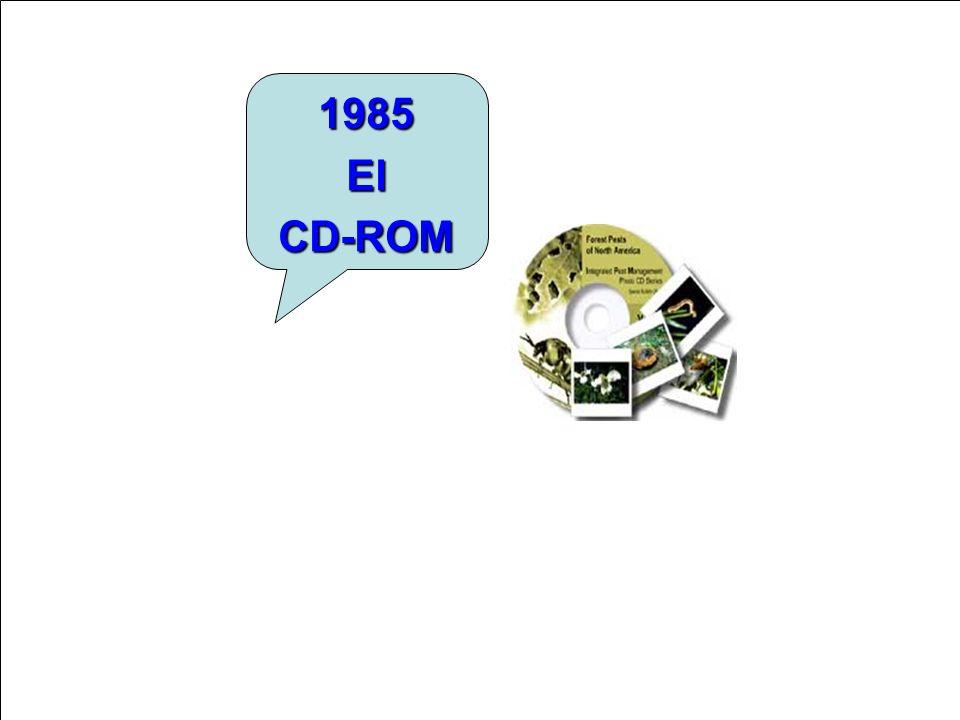 1985 El CD-ROM