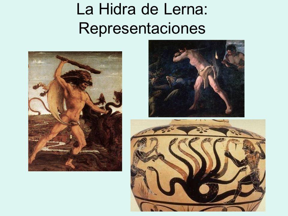 La Hidra de Lerna: Representaciones