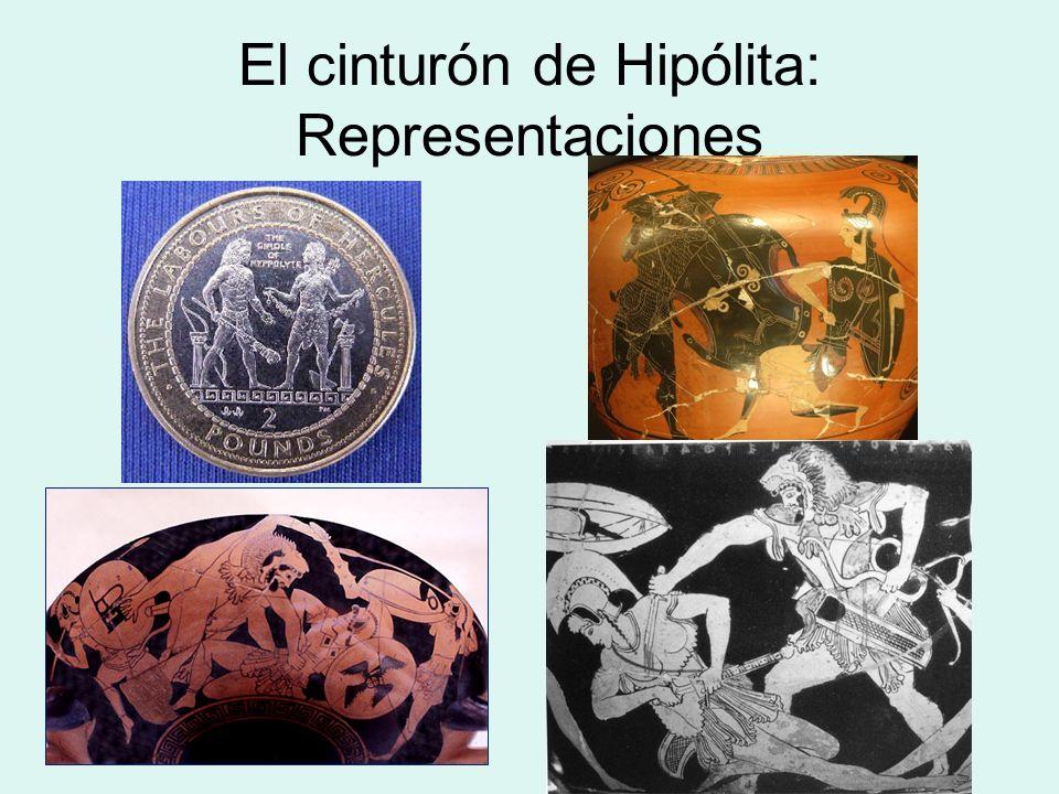 El cinturón de Hipólita: Representaciones