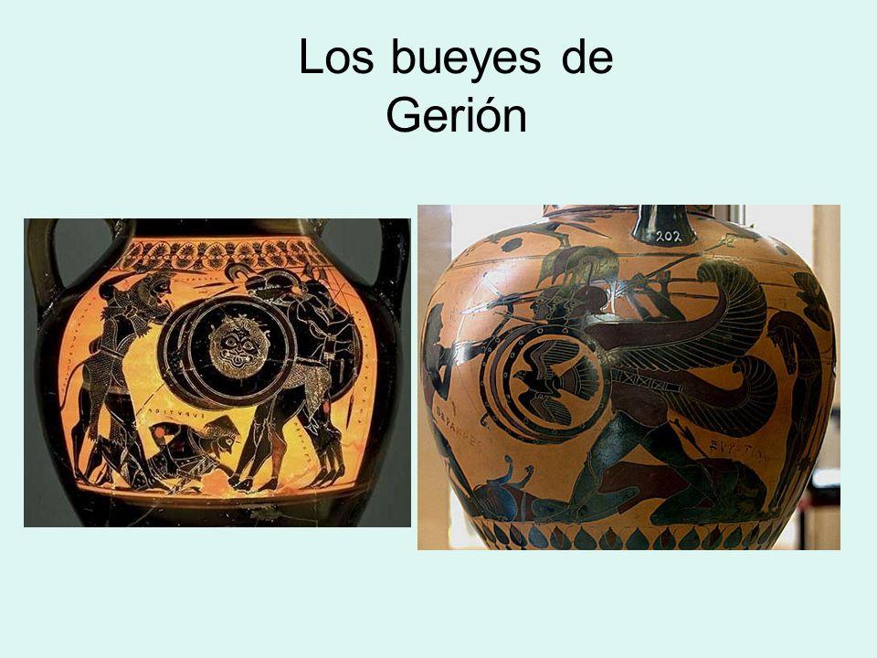 Los bueyes de Gerión