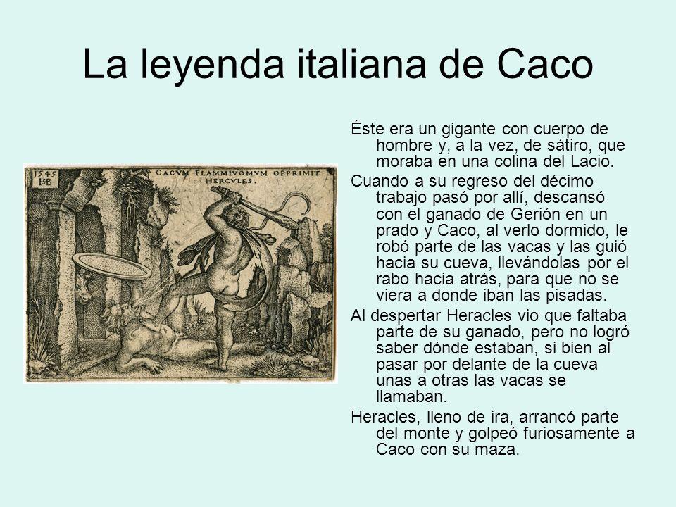 La leyenda italiana de Caco