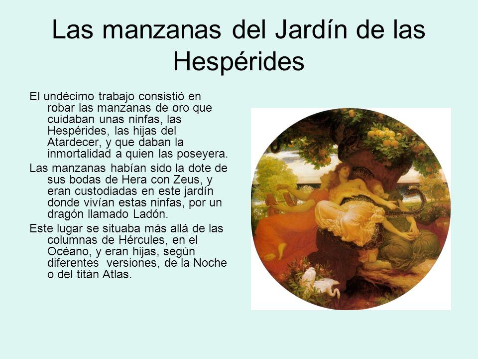 Las manzanas del Jardín de las Hespérides