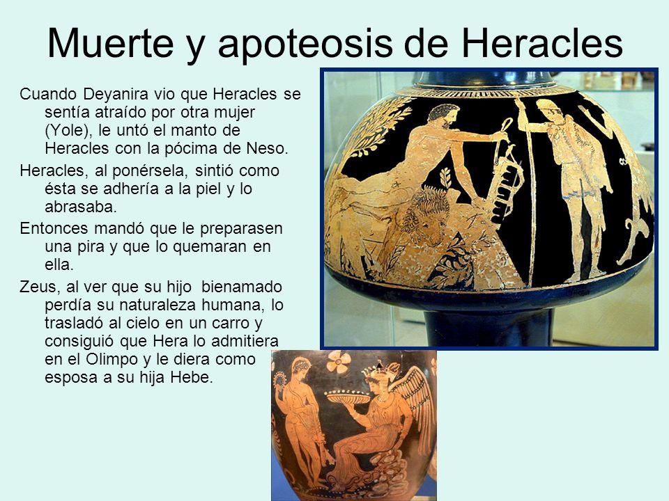 Muerte y apoteosis de Heracles